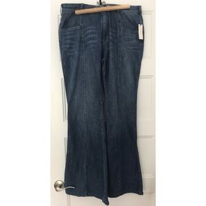 Anthropologie Pilcro flare jeans NWT size 32